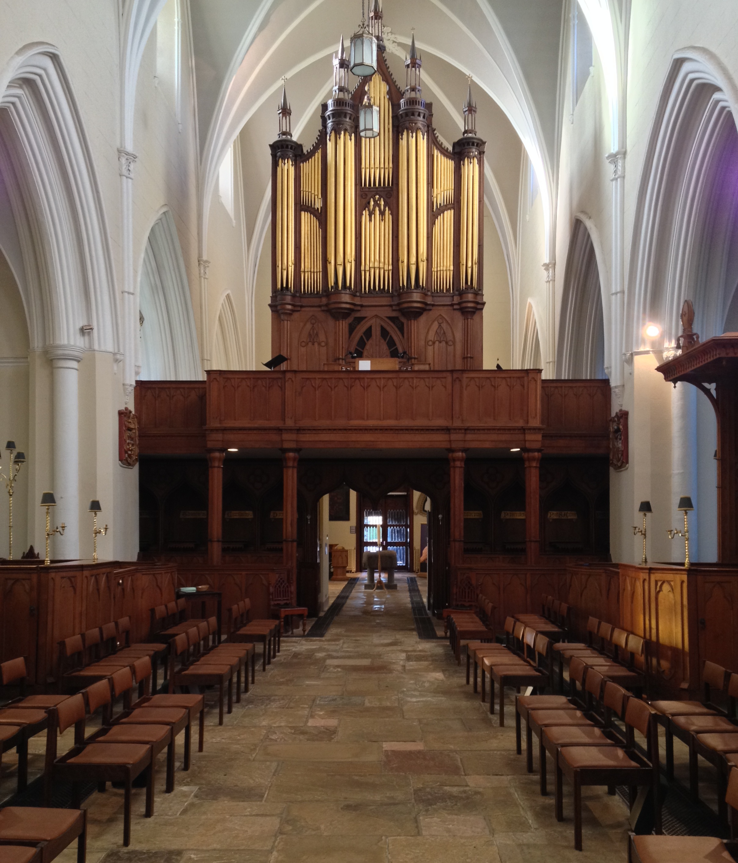 Image result for down cathedral organ