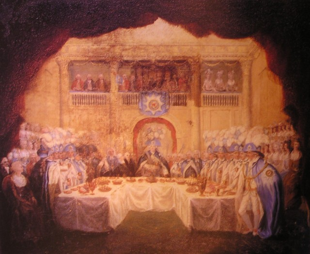 Order_of_St_Patrick_installation_banquet 17 March 1783