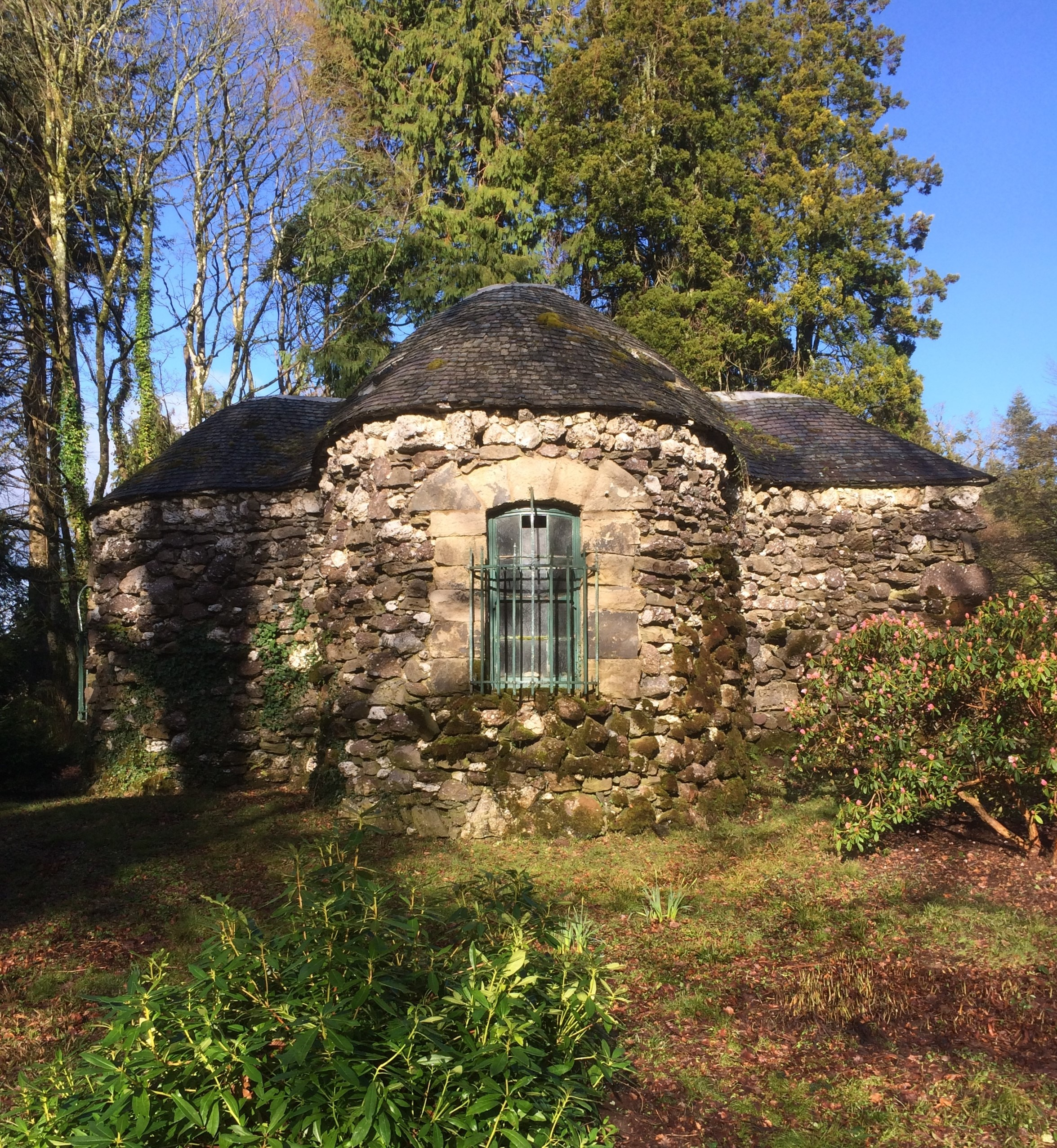 Shell House Part - 45: In June 1732 The Indefatigable Mary Delany (then Still Mrs Pendarves  Following The Death Eight Years Earlier Of Her First Husband) Was Staying  In Killala, ...
